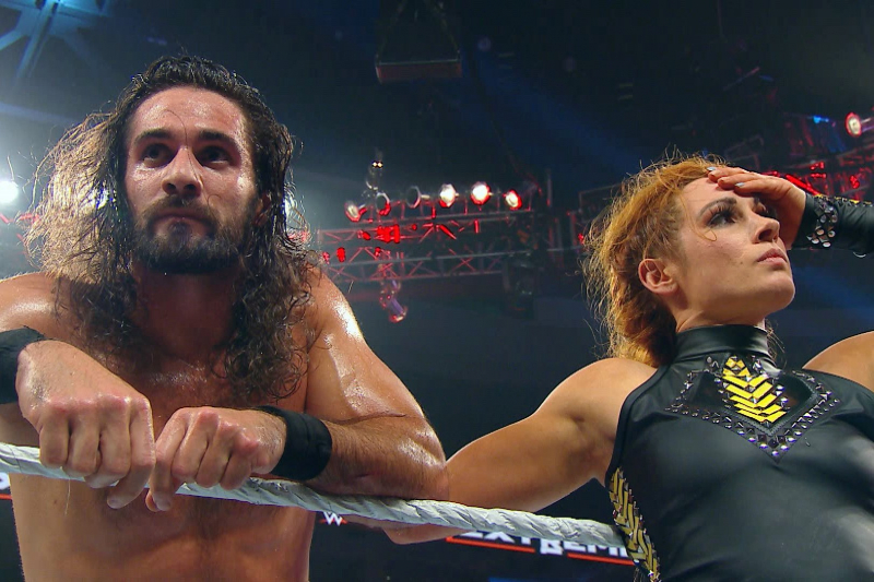 WWE SummerSlam Predictions for Brock Lesnar vs. Seth Rollins and Becky Lynch