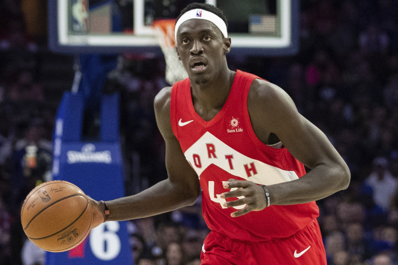 Video: Pascal Siakam Says 'S--t Happens' About Thunder-Paul George Trade Rumors