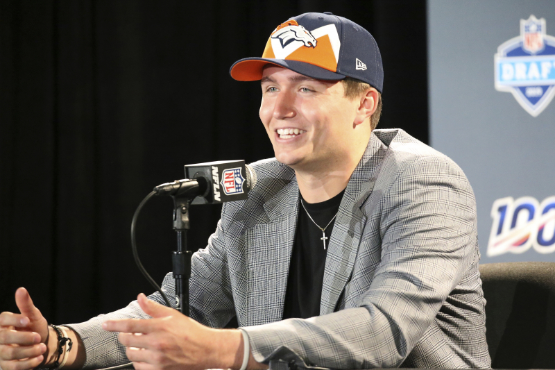 Broncos Rumors: Drew Lock Debating Holdout, Seeking 'QB Premium' on Contract