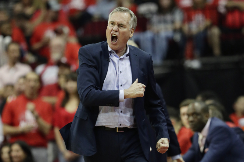 Mike D'Antoni: It's 'BS' to Say Rockets Can't Win with Current Offensive System