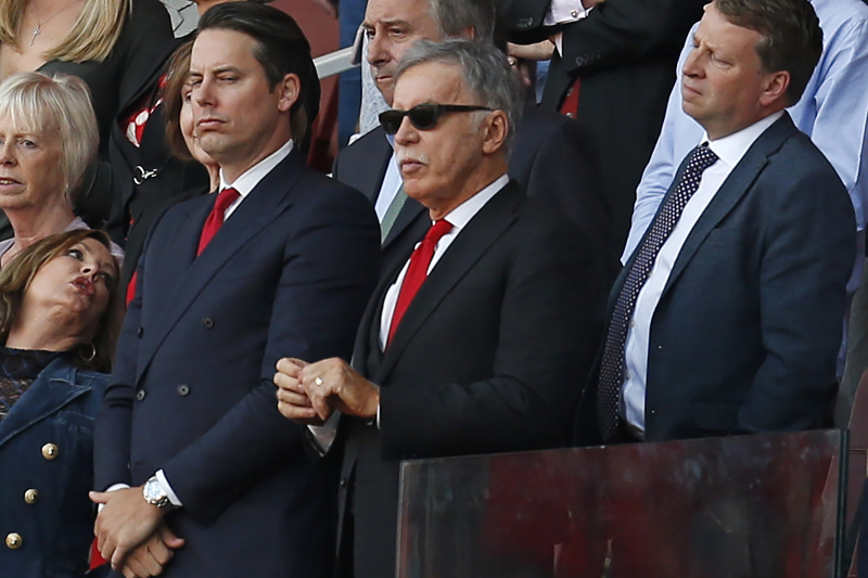 Stan Kroenke's Son Defends Arsenal Owner in Response to Fans' Complaints