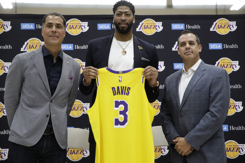 Lakers News: Anthony Davis, LeBron James, All Players' Jersey Numbers Revealed
