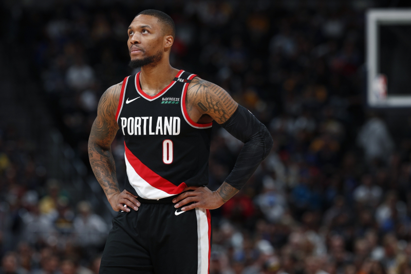 Blazers' Damian Lillard Hints at Major 'Space Jam 2' Role: 'It's Not a Cameo'