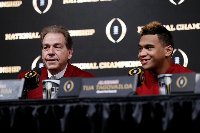 Tua Tagovailoa, Nick Saban Happy Alabama Has Learning Experience of Clemson Loss