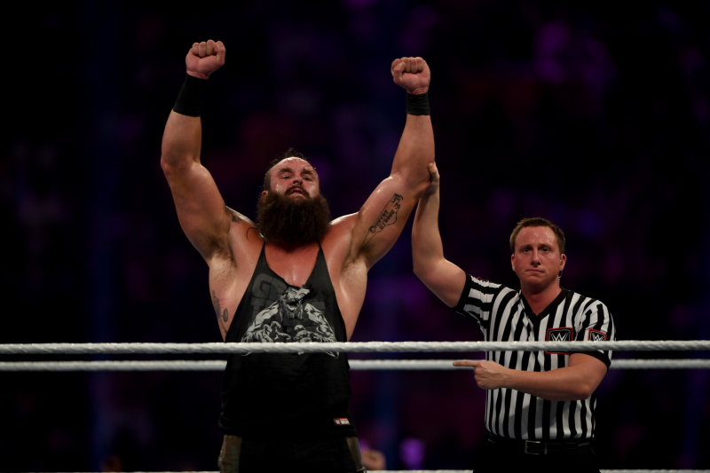 Braun Strowman Announces New 4-Year WWE Contract on Instagram
