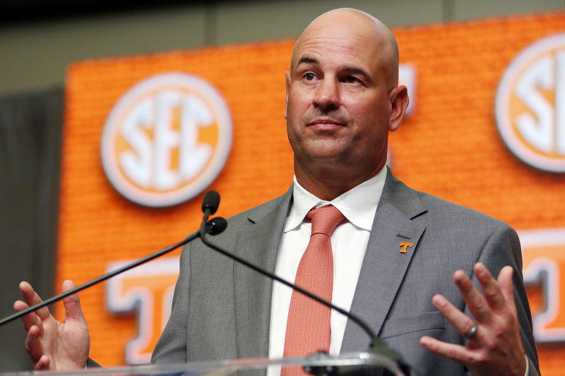 SEC Media Days 2019: Why Tennessee Will Never Be Elite Again