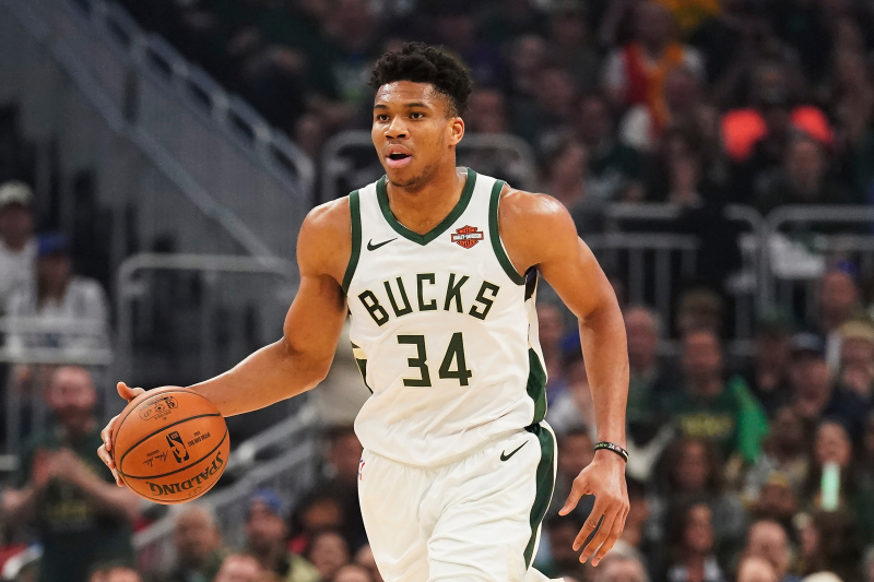 2020 NBA MVP Odds: Giannis Favored over Stephen Curry, LeBron James, More