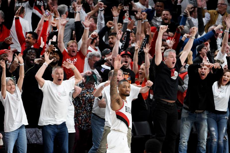 Blazers' Damian Lillard Says Series-Winner vs. Thunder Was 'For Seattle'