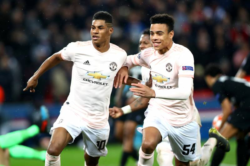 Man United's Marcus Rashford Hails Mason Greenwood's 'Frightening