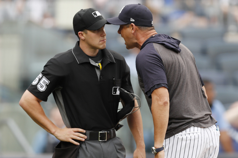 CC Sabathia: Aaron Boone's Rant at Rays vs. Yankees Umpire 'A 10 out of 10'