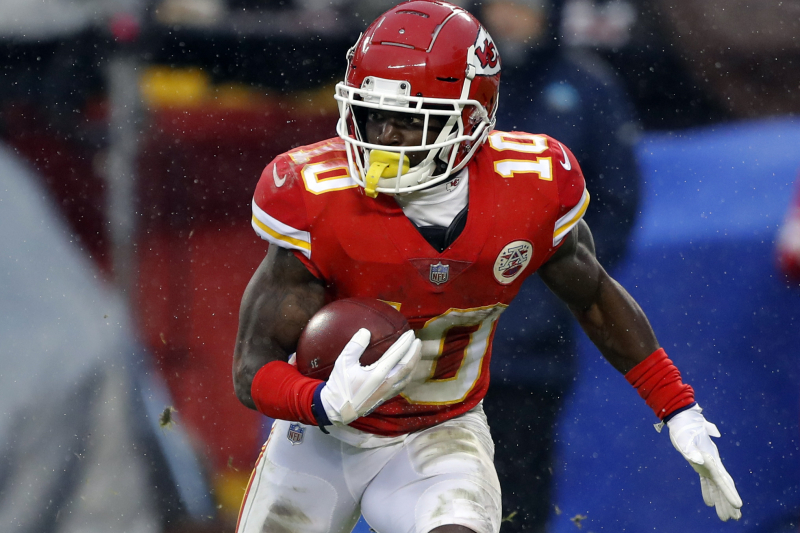 Chiefs' Tyreek Hill Releases Statement After NFL Decides Not to Suspend Him