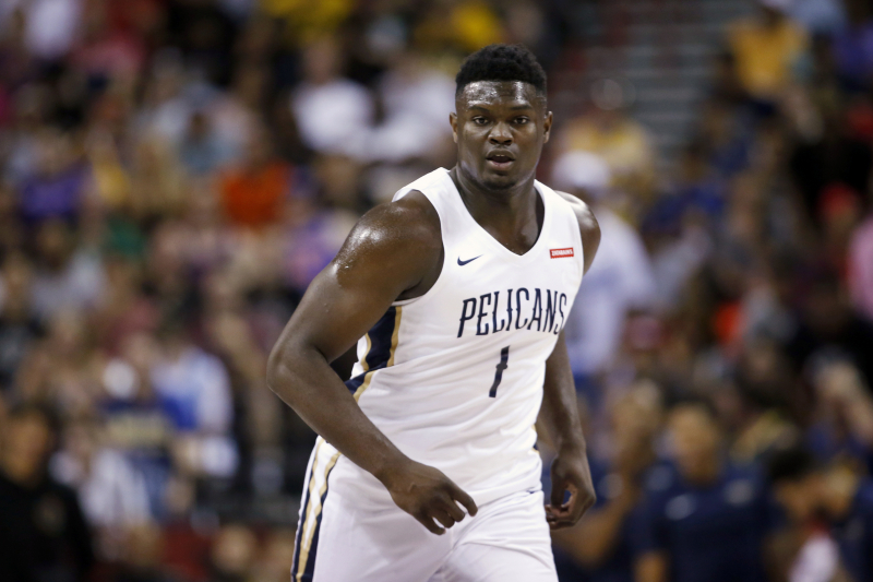 TMZ: Puma in Running to Sign Zion Williamson; Nike Also Leader for Pelicans Star