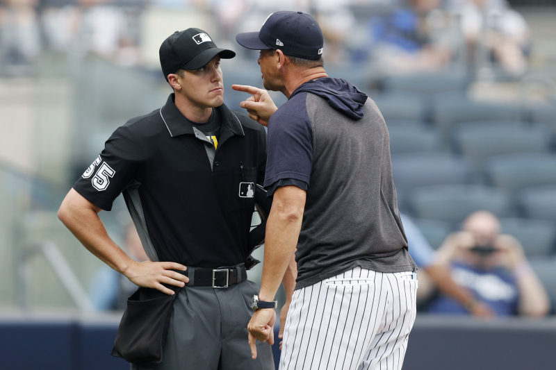 Yankees News: Aaron Boone Suspended 1 Game for Explosive Argument with Umpire