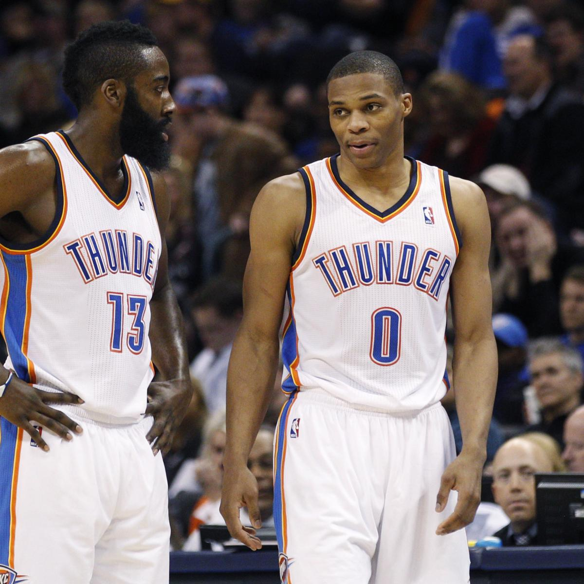 James Harden Rockets: Rockets' James Harden On Russell Westbrook Pairing: Talent