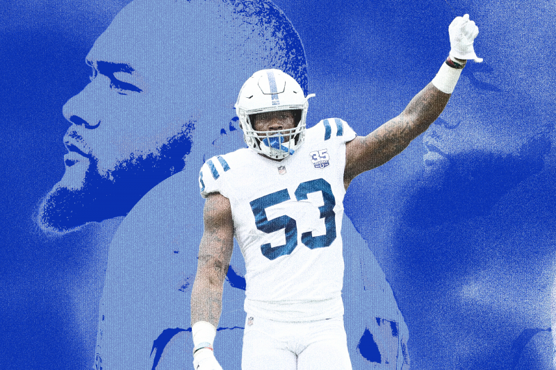 Inside the Mind of a Maniac: How Colts LB Darius Leonard Plans to Win Everything