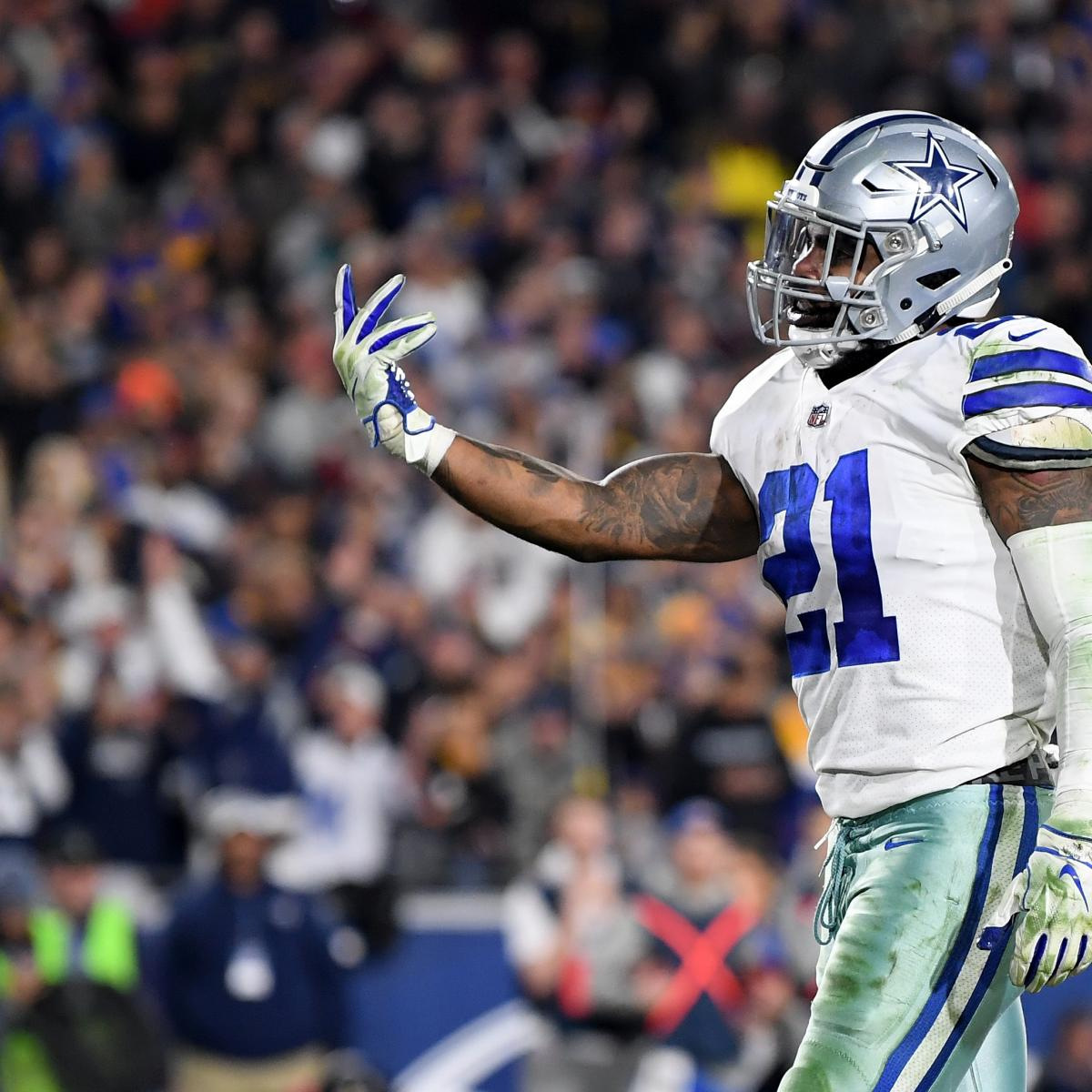 Cowboys Rumors: Ezekiel Elliott Plans to Travel out of Country amid Holdout Buzz