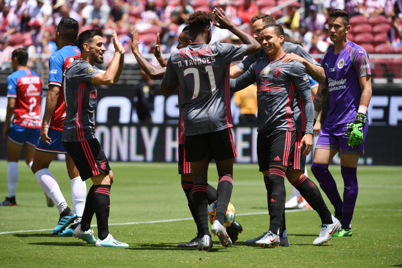 Benfica Cruise Past Chivas 3-0 in 2019 International Champions Cup Friendly