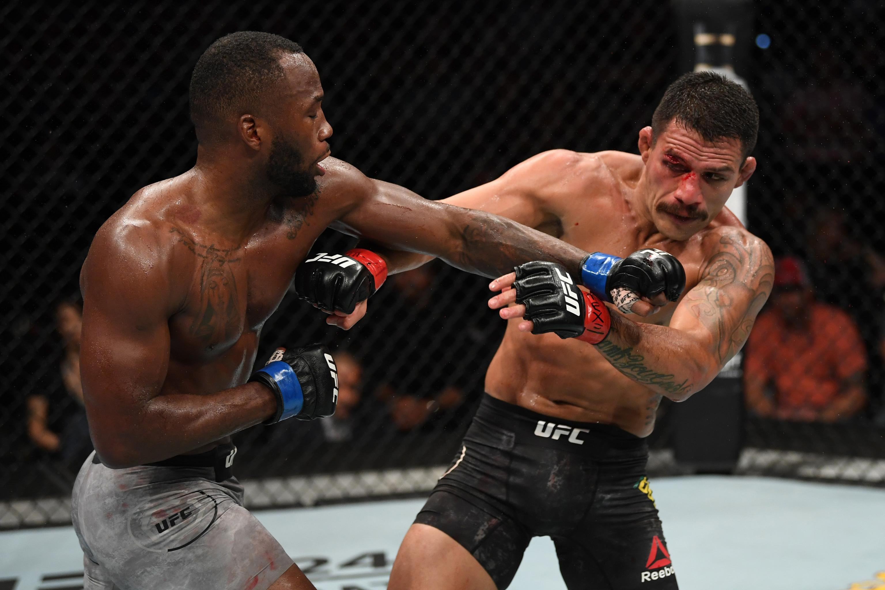 UFC on ESPN 4 Results: Leon Edwards Beats Rafael dos Anjos by Unanimous  Decision | Bleacher Report | Latest News, Videos and Highlights
