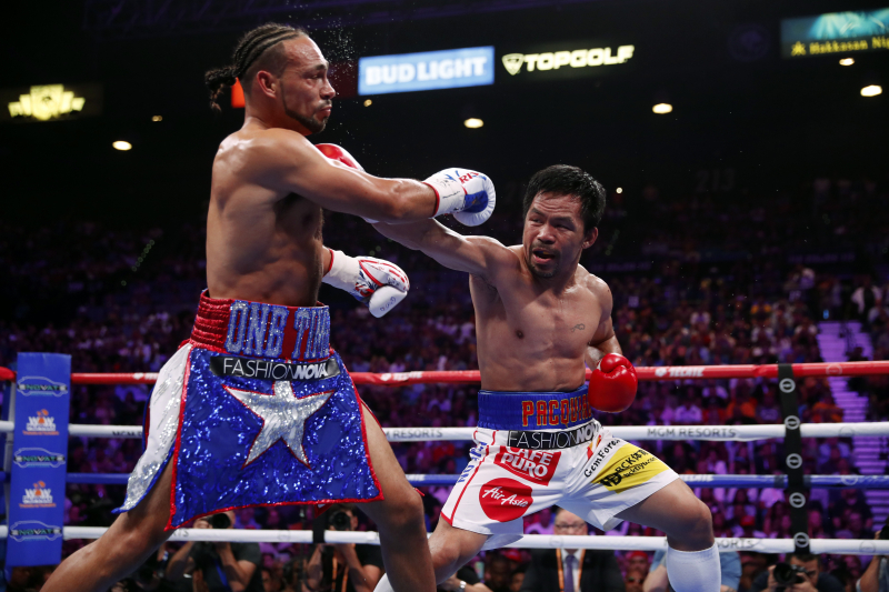 Pacquiao vs. Thurman Purse: Known Prize Money Payout Distribution
