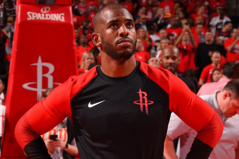 Chris Paul: NBA Players Don't Talk Money in Locker Rooms, It's 'Uncomfortable'