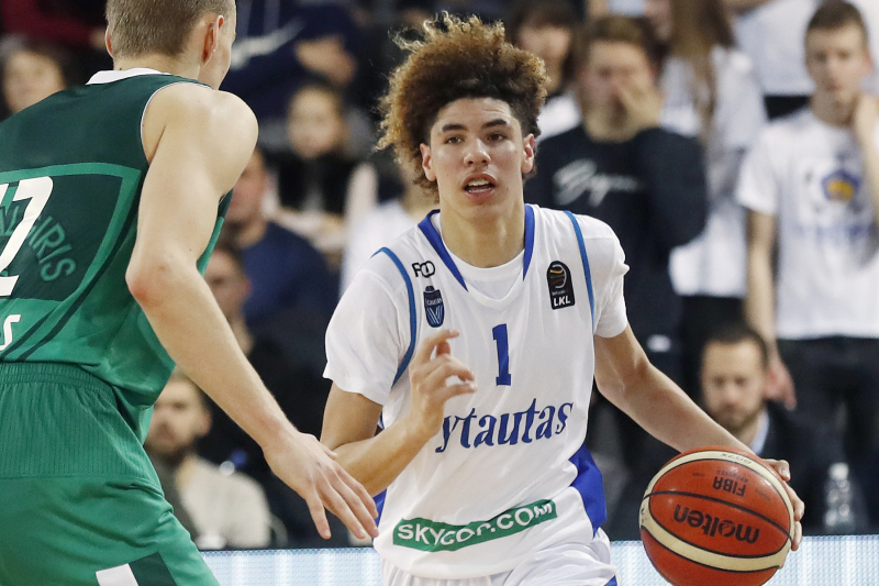 Video: Hawks' Trae Young Says Lonzo Ball's Brother LaMelo Could Be Top 3 Pick