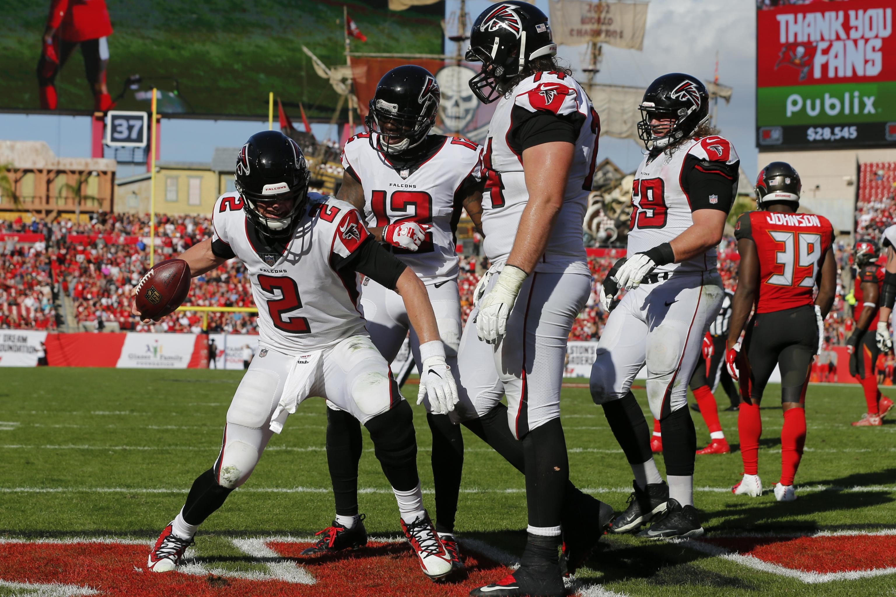 6c69f7df Atlanta Falcons Poised to Be NFC's Biggest Sleeper in 2019 ...