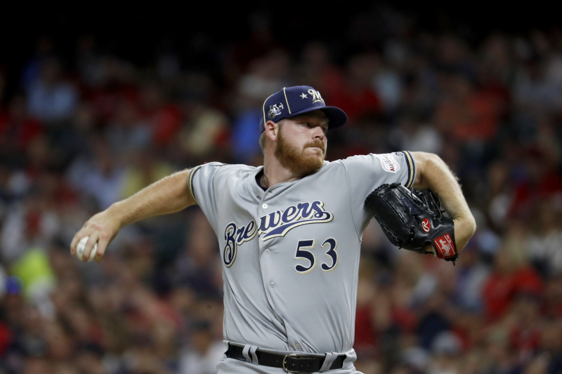 Brewers Ace Brandon Woodruff Placed on IL with Oblique Injury