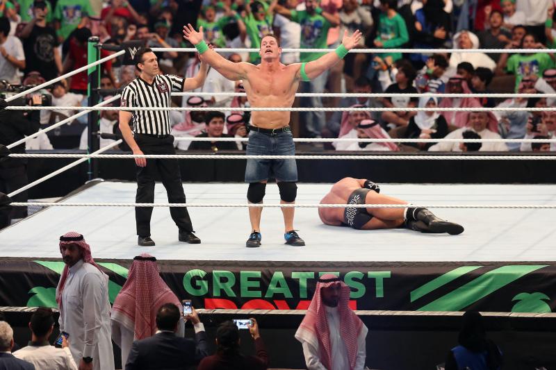 Video: John Cena Revives Doctor of Thuganomics to Diss Usos on WWE Raw Reunion