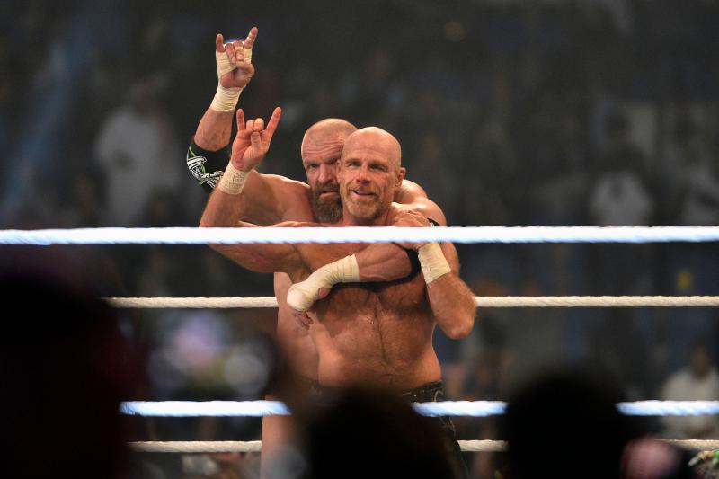 Watch DX, the Kliq, Seth Rollins Confront AJ Styles, The OC on WWE Raw Reunion