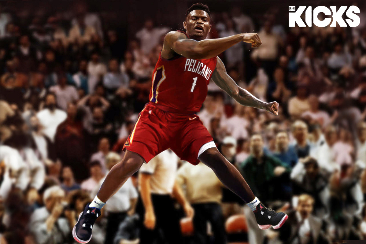 Positivo tanto sobre  Pelicans' Zion Williamson, Jordan Brand Agree to Reported 7-Year Shoe  Contract | Bleacher Report | Latest News, Videos and Highlights