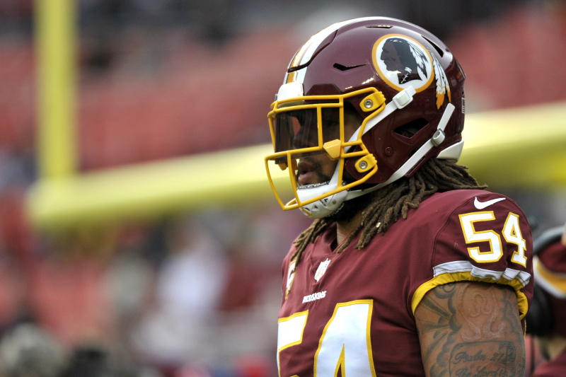 Redskins Rumors: Mason Foster Released Ahead of Washington Training Camp