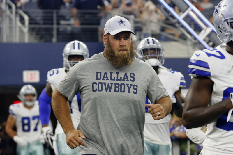 Report: Cowboys' Travis Frederick Cleared for Camp After Missing 2018 Season