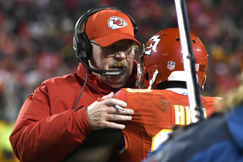 Andy Reid: Chiefs 'Have Trust In' Tyreek Hill After Child Abuse Investigation