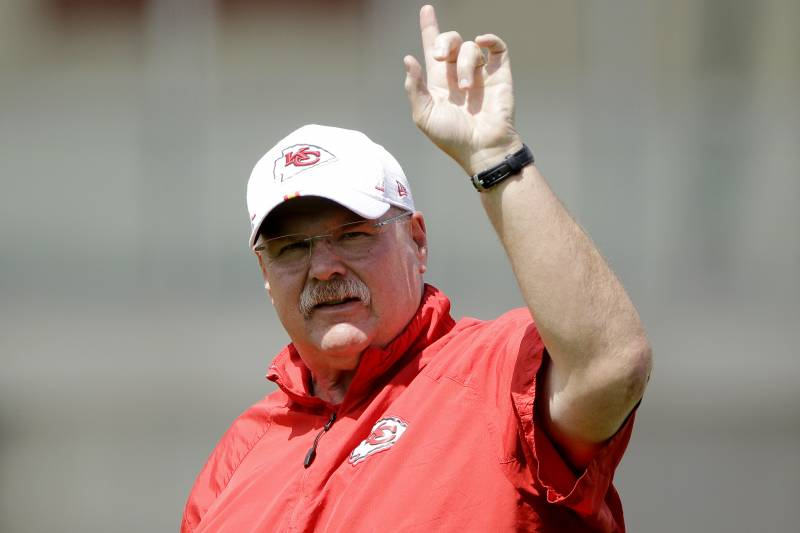 Superb Chiefs Andy Reid On Offseason Activities I Attacked A Bralicious Painted Fabric Chair Ideas Braliciousco