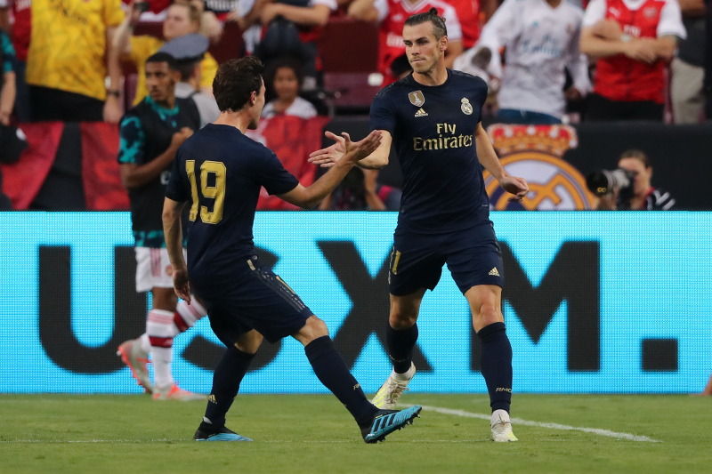 Gareth Bale, Real Madrid Rally to Beat Arsenal on Penalties in 2019 ICC