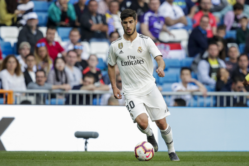 Report: Real Madrid's Marco Asensio Could Be out for Season with Knee Injury