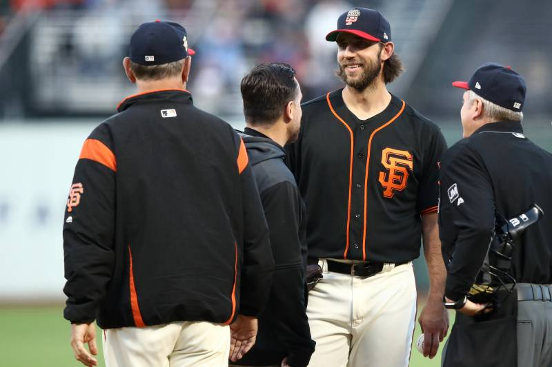 Sf Giants Home Schedule 2020.Sf Giants Would Be Foolish To Keep Madison Bumgarner Ignore