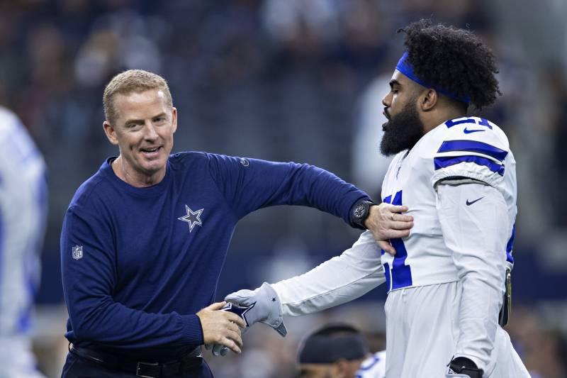 Cowboys News Jason Garrett Anticipates Ezekiel Elliott Will