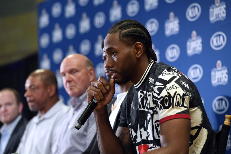 Kawhi Leonard Was 'Very Close' to Signing with Lakers or Raptors over Clippers