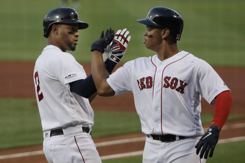 online store e7643 f37be Red Sox Hit 4 Home Runs, Trounce Yankees 19-3 in Record ...