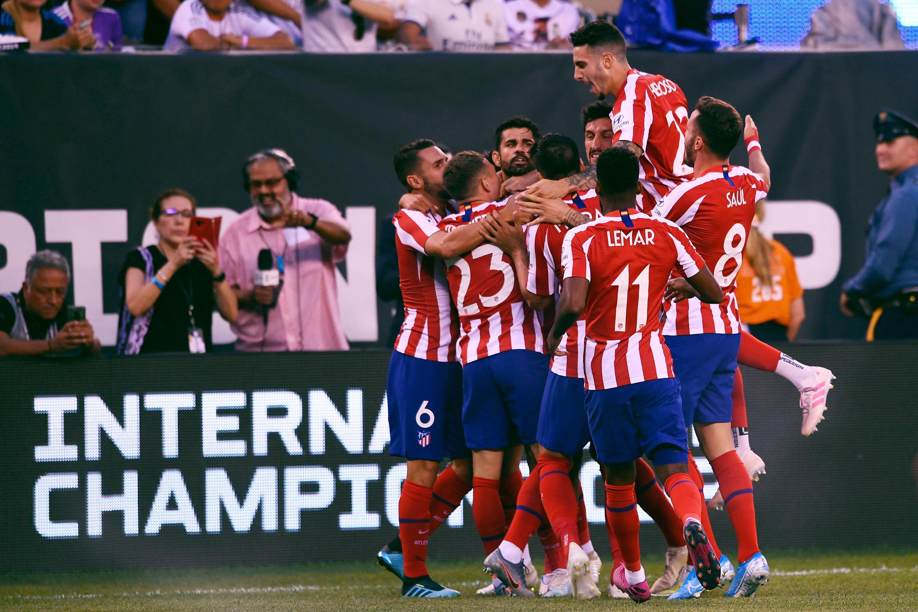 Diego Costa Scores 4 Goals Atletico Madrid Crush Real Madrid 7 3 In 2019 Icc Bleacher Report Latest News Videos And Highlights