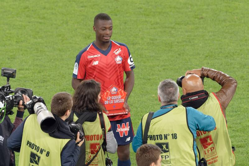 finest selection 79c4c 795e5 Report: Arsenal Reach Agreement to Sign Lille's Nicolas Pepe ...