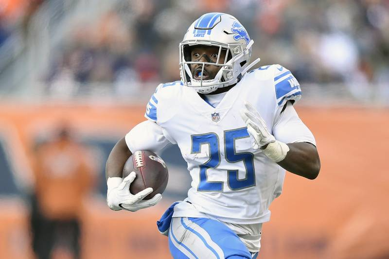 bca2528e Theo Riddick Released by Lions to Make Room for Mike Daniels ...
