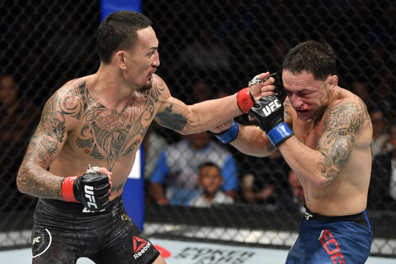 Max Holloway Beats Frankie Edgar by Unanimous Decision in UFC 240 Main Event