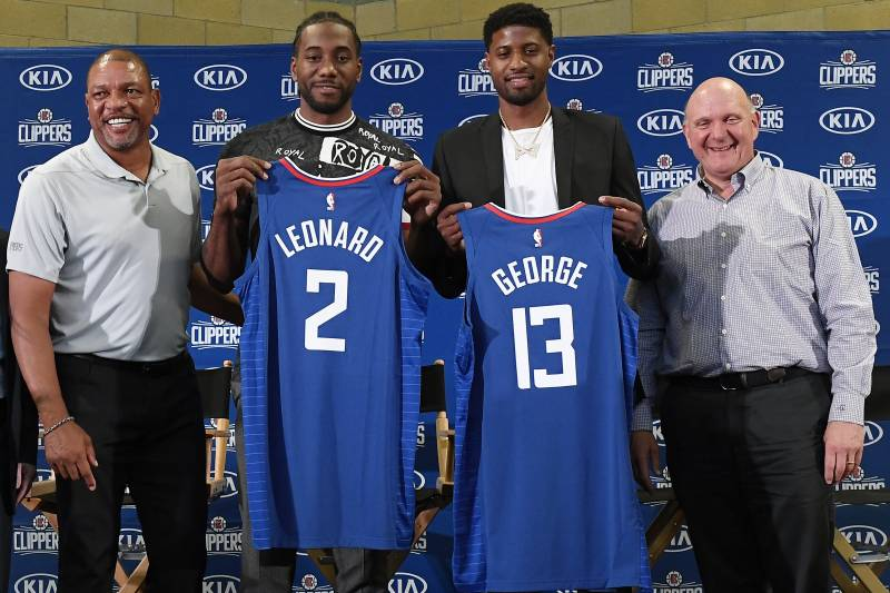 Nba 2020 Playoff Odds Released For Every Team Clippers Lead