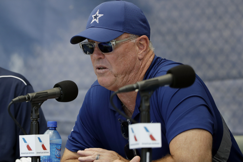 Stephen Jones: Cowboys 'Damn Sure' Won't Be 'Market-Setter' for New Contracts