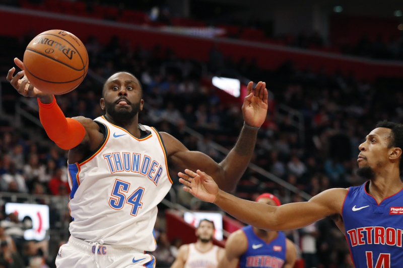 Clippers Rumors: Patrick Patterson Intends to Sign in LA After Thunder Buyout
