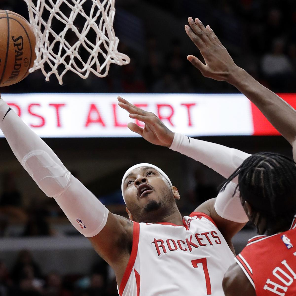 Carmelo Anthony Discusses Rockets Release, Joining Knicks