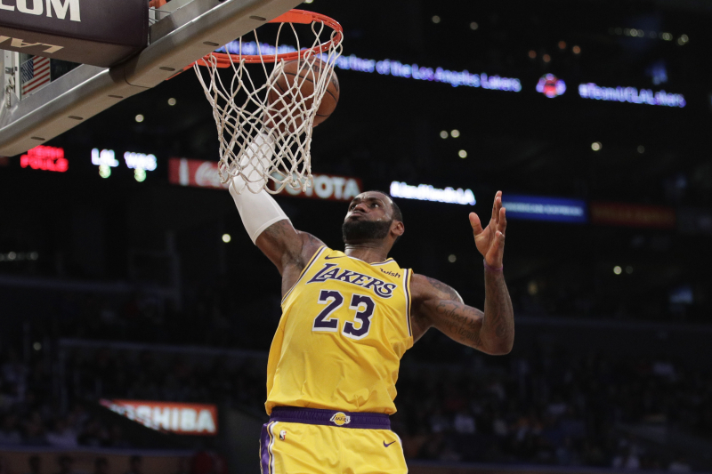 Lakers vs. Clippers Reportedly Headlines 2019-20 NBA Christmas Day Games