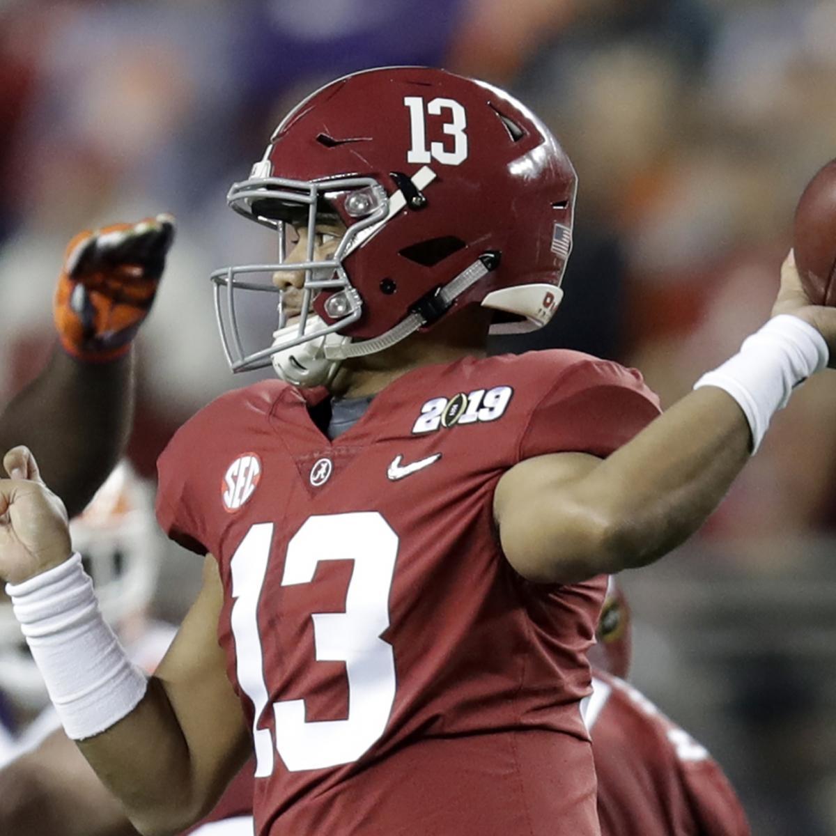 College Fantasy Football 2019: Mock Draft, Cheatsheet and ...